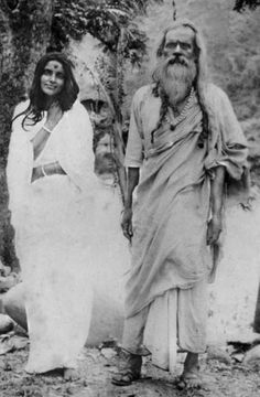 ananda mayi ma and her husband
