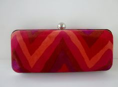 clutch purse/Missoniinspired by VincentVdesigns on Etsy, $45.00