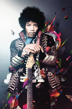 Jimi Hendrix: Widely considered to be the most influential electric guitarist in rock and roll history. Woodstock, Hard Rock, Jimi Hendrix Experience, Jimi Hendrix Poster, Jimi Hendricks, Historia Do Rock, Photo Portrait, Janis Joplin, Rock Legends