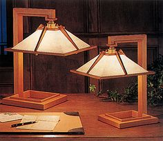 Frank Lloyd Wright Taliesin I Lamp, Large