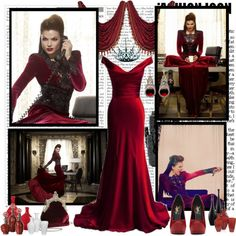 """Once Upon a Time: Regina"" by ketusa ❤ liked on Polyvore"