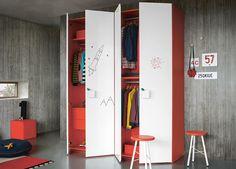 Nidi Graphic Wardrobe & Modern Kids Wardrobes Online at MOOD