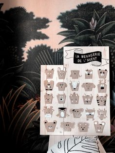 {DIY} La ménagerie de l'avent! Diy Advent Calendar, Craft, Photo Wall, Pin, Blog, Decor, Pet Gifts, Coffee Filters, Recycling