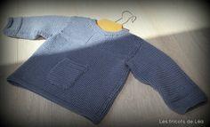 Brassière bébé de Phildar en Partner 3.5 -  Les tricots de Léa