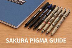 Sakura Pigma Pens: A Comprehensive Guide - JetPens.com