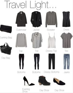 Travel Light by Polyvore