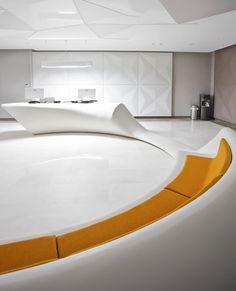 Liv Hospital Polyclinic Waiting Area design by Zoom TPU