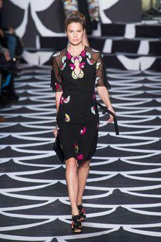 Diane von Furstenberg Fall 2014 Ready-to-Wear Runway - Diane von Furstenberg Ready-to-Wear Collection