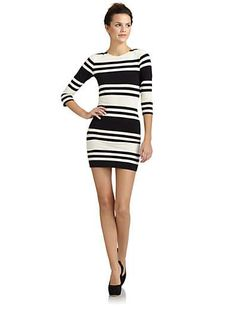 French Connection Jag Stripe Dress - Wantering #wanteringtrends #stripes For more spring trends visit springtrends2013.wantering.com