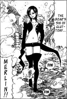 Merlin of Nanatsu no Taizai.
