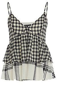 Marissa Webb Jan Gingham/Plaid Cami