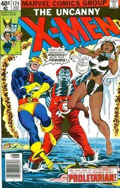 Uncanny X-men Vol.1 #124, august 1979. Cover by Dave Cockrum, Terry Austin, Gaspar Saladino.