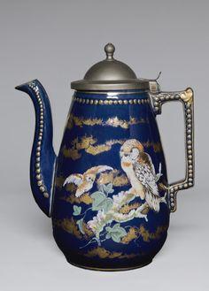 Coffeepot  J. E. Jeffords and Company, Philadelphia City Pottery,    1886