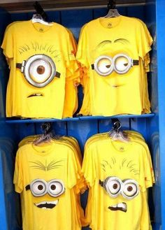 Minions t-shirt.