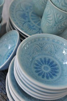 Pretty, pretty dishes!