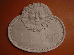 WELCOME SUN SIGN $25.00 - HOME DECOR & GARDEN DECOR