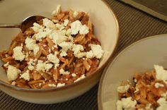 Easy Healthy Kitchen: Beef Orzo with Feta
