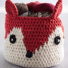 Sugar n Cream Foxy Stash Basket
