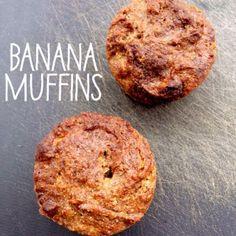 Banana Bread Muffins via @Lauren Potts // #banana #muffins #recipe