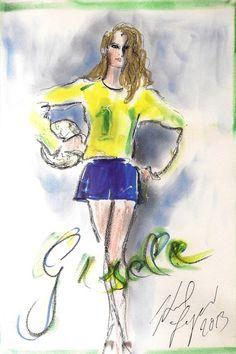 Gisele Bundchem - Brazil 2013 - Copa das confederações
