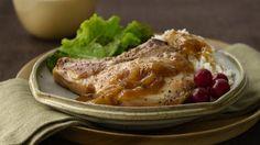 Pork Chops + French Onion Soup + Skillet