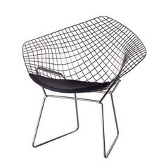 Diamond chair by Harry Bertoia  sc 1 st  Pinterest & 43 best Harry Bertoia images on Pinterest | Harry bertoia Chairs ...
