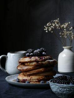 Čučoriedkové pancaky - My Sweet Fairytale Fairytale, French Toast, Pancakes, Gluten Free, Chocolate, Breakfast, Sweet, Blog, Fairy Tail