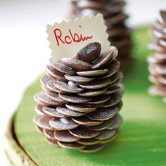 chocolate pine cone by sweet trees | notonthehighstreet.com