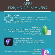 Edição pelo celular também vale! ☺️ ⠀  Os apps mobile estão cada vez mais precisos e práticos. ⠀  Testamos esses e adoramos! 💙 ⠀  Qual o seu preferido? ⠀  ⠀  ⠀  #vsco #snapseed #enlightphotofox #picsart #dicasdefotografia #fotografia
