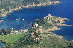 Photo aérienne de Girolata - Corse-du-Sud (2A)