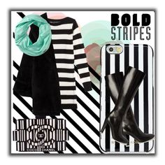 """Bold stripes"" by mizzura ❤ liked on Polyvore featuring Marc Jacobs, MICHAEL Michael Kors, Chanel, Yves Saint Laurent, Jean-Paul Gaultier and Smartwool"