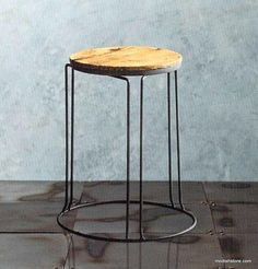 Roost Reclaimed Wood Stacking Stool/Side Table - Set Of 2