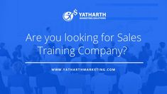 Want to build a great sales team who help you to achieve your sales target? Yatharth Marketing Solutions will train you and your sales team to get long achieve… Sales Training Programs, Sales Coaching, Training And Development, Personal Development, Best Online Sales, Selling Skills, Sales Skills, India Usa, Business Goals