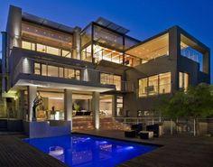 Luxury Property Design of Johannesburg, South Africa Style At Home, Design Blogs, Home Design, Modern Design, Design Styles, Villa Architecture, Architecture Company, Amazing Architecture, Property Design