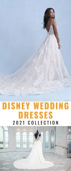 See all of the gorgeous Disney Wedding Dresses for 2021. Browse all the Disney Wedding Collection by Kleinfeld and Allure Bridals of these spectacular Disney Princess wedding gowns.