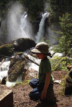 Begbie Falls. Revelstoke BC Revelstoke Bc, Adventure Time, Trail, Road Trip, Places To Visit, Hiking, Camping, Explore, Cher