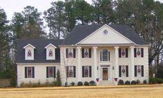 Colonial Style House Plans - 2537 Square Foot Home , 2 Story, 4 Bedroom and 3 Bath, 2 Garage Stalls by Monster House Plans - Plan 6-1389