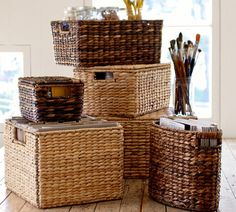 how to utilise a small bedroom lidded baskets home small spaces 20591