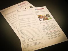 Twitter / LinxPrint: Completed forms for Public ...