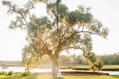A perfect outdoor wedding from Dunes West Resort in Charleston, SC.  The light is gorgeous here.  Photographed by Charleston wedding photographer - RIVERLAND STUDIOS.