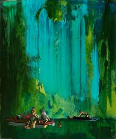 "Saatchi Online Artist Grażyna Smalej; Painting, "" The Raft of the Medusa"" #art"