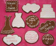 Bridal Cookie Cutouts