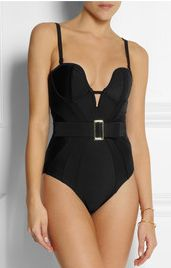 Marnee belted swimsuit by Agent Provocateur