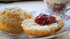Scones British tea service wouldn't be complete without scones.
