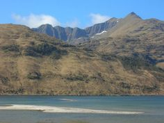 Knoydart, Scotland. Pretty sure I climbed that mountain.