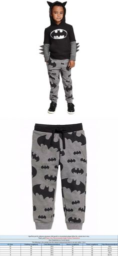 Fashion Kids Baby Boys Pajamas Sets Super Hero Batman Hoodie T-shirt+Long Pants 2pcs Set Clothes 3-7Y