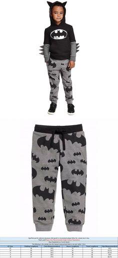 Fashion Kids Baby Boys Pajamas Sets Super Hero Batman Hoodie T-shirt+Long Pants 2pcs Set Clothes 3-7Y