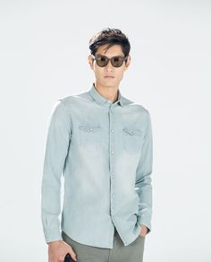 ZARA - MAN - BASIC DENIM SHIRT 39.90
