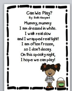 halloween poems perfect for first grade - Good Halloween Poems