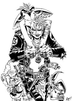 WEEDnesday::: Tank Girl - Coffee & Cigarettes ♠ - Taringa!